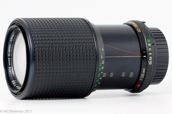 MD Zoom Rokkor 50-135/3.5 MD-II