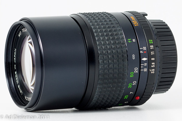 MD Tele Rokkor 135/3.5 MD-I