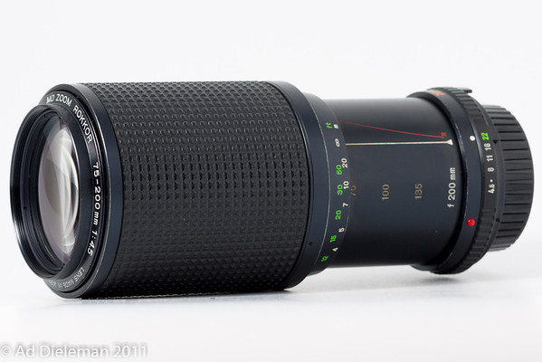MD Zoom Rokkor 75-200/4.5 MD-II